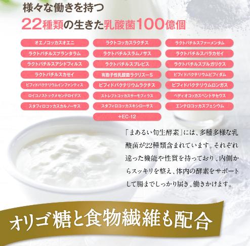 22種類の乳酸菌
